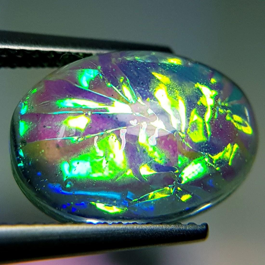 5.93 ct Australian Doublet Opal - 6