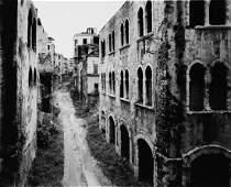 GABRIELE BASILICO - Rue Dakar. Beirut,1991