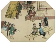 Shibata ZESHIN (1807-91) Tea-house in the countryside-