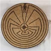 Fine, large Pima figural basket ca 1920