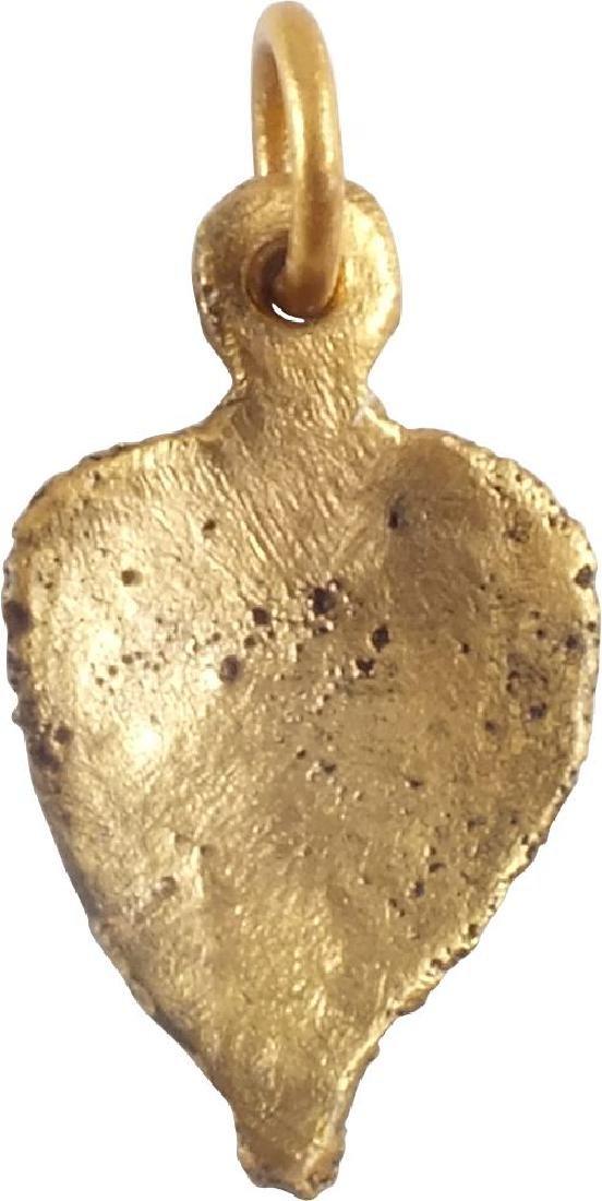 VIKING HEART PENDANT C.900-1050 A.D. - 3