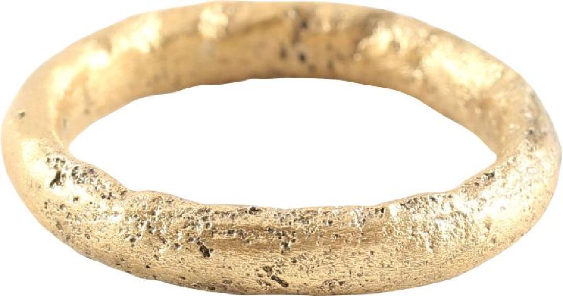VIKING TWISTED RING C.866-1067 A.D. SIZE 5 1/2. - 2