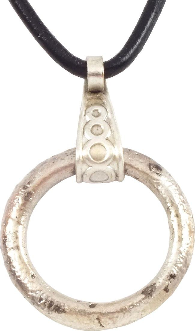 CELTIC PROSPERITY RING NECKLACE C.400-100 B.C.