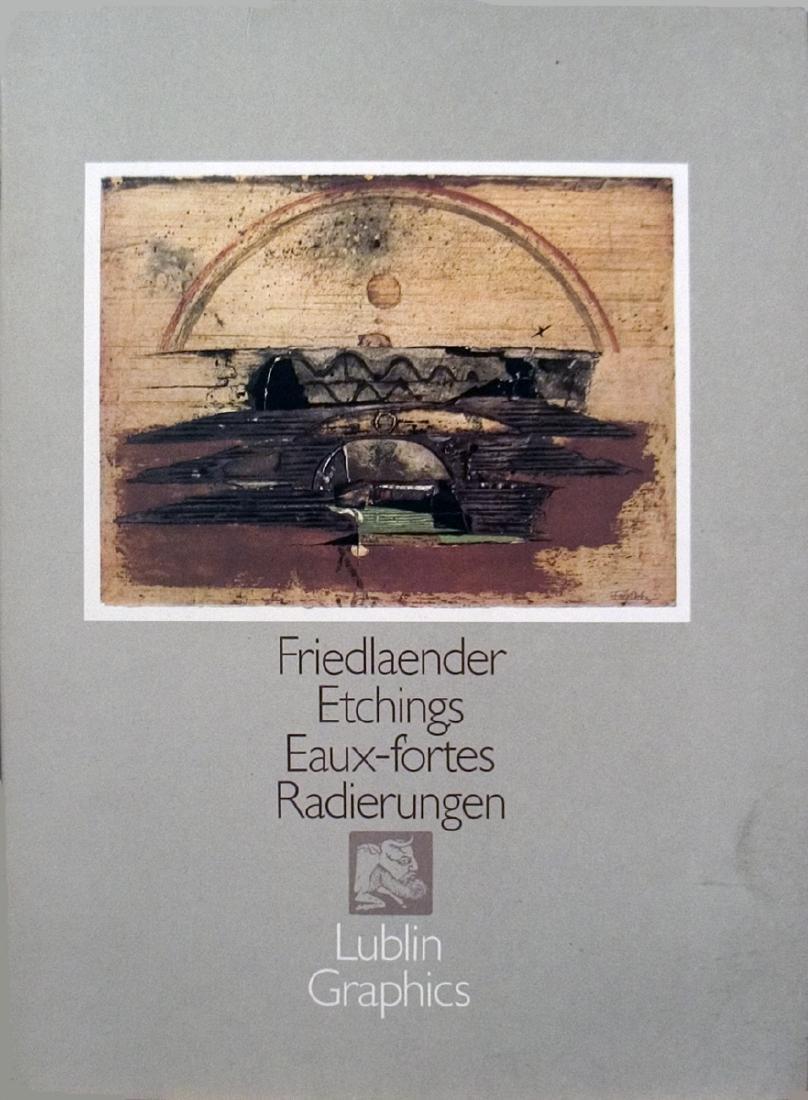 Friedlaender Etchings Eaux-Fortes Radierungen