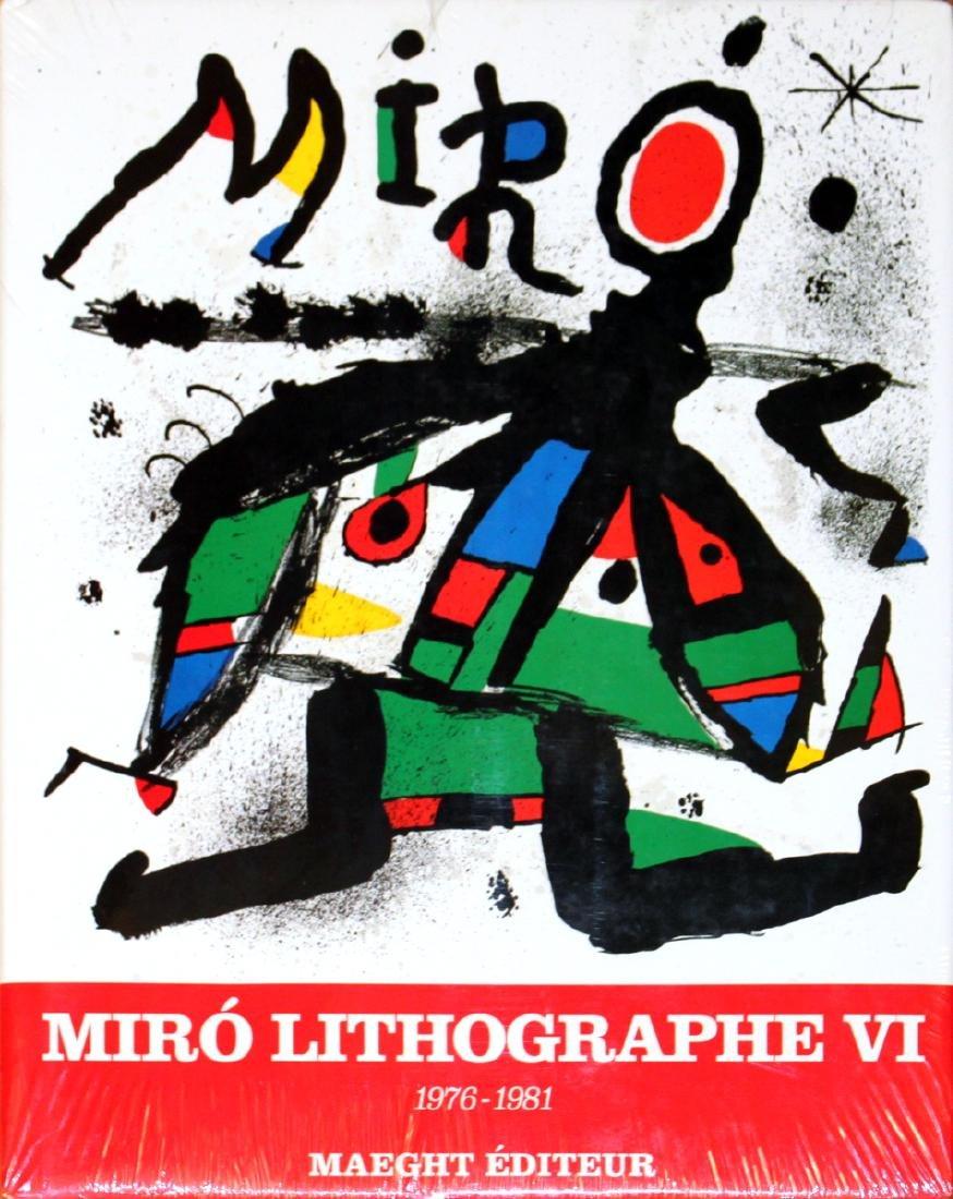 Miro 1976-1981. Volume 6, Lithographs VI (French)