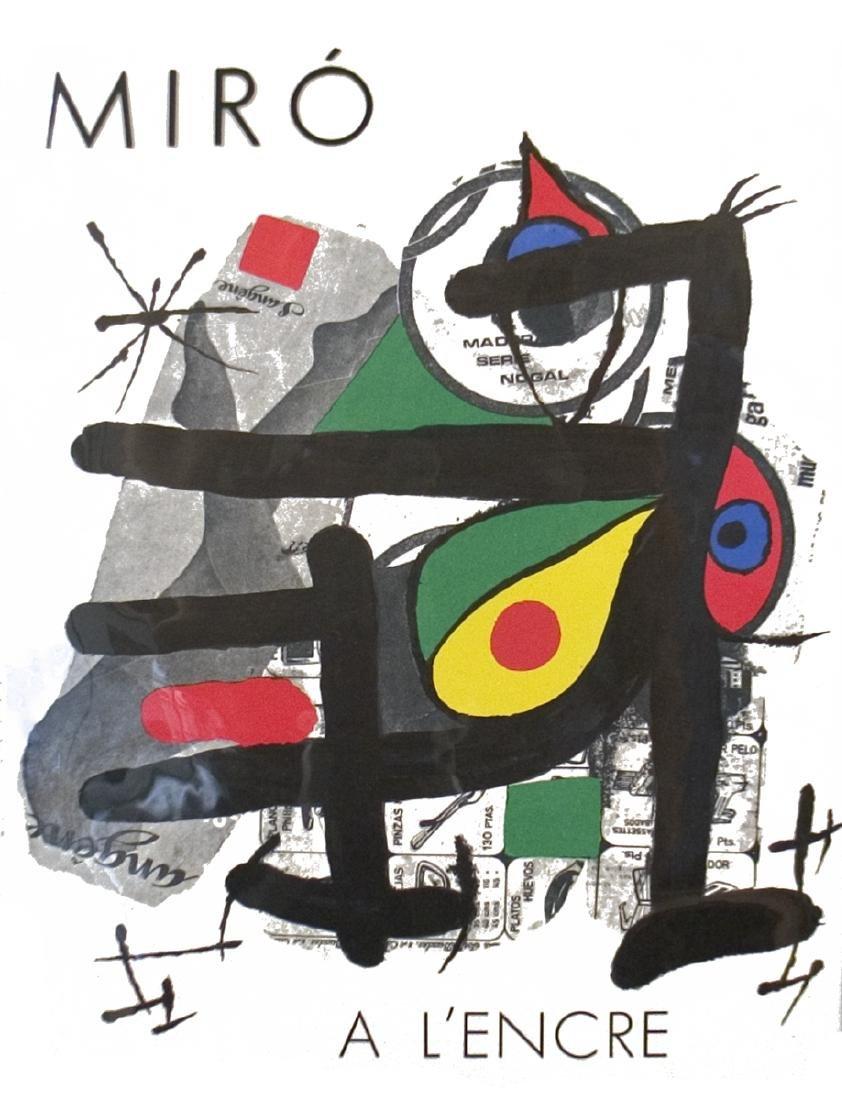 Joan Miro A L'encre