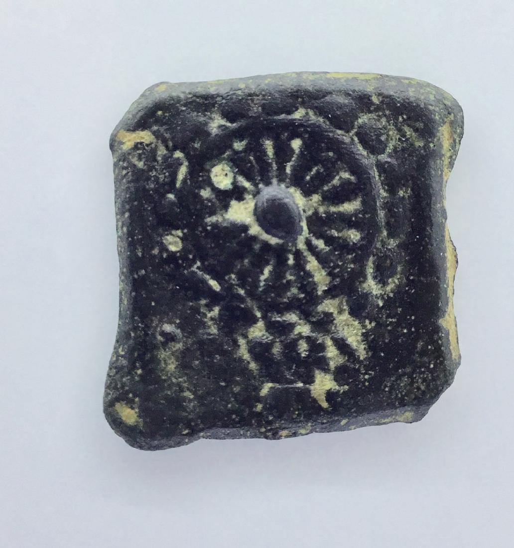 Ancient India. Pushkalvati kingdom. 200-100 BC