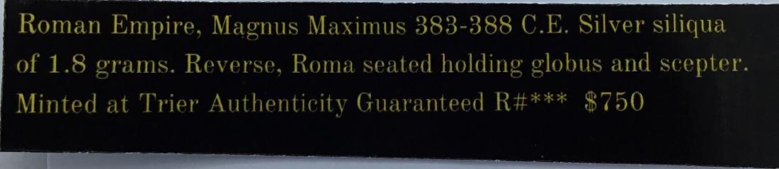 Roman. Magnus Maximus. RARE. 383-388 AD - 3