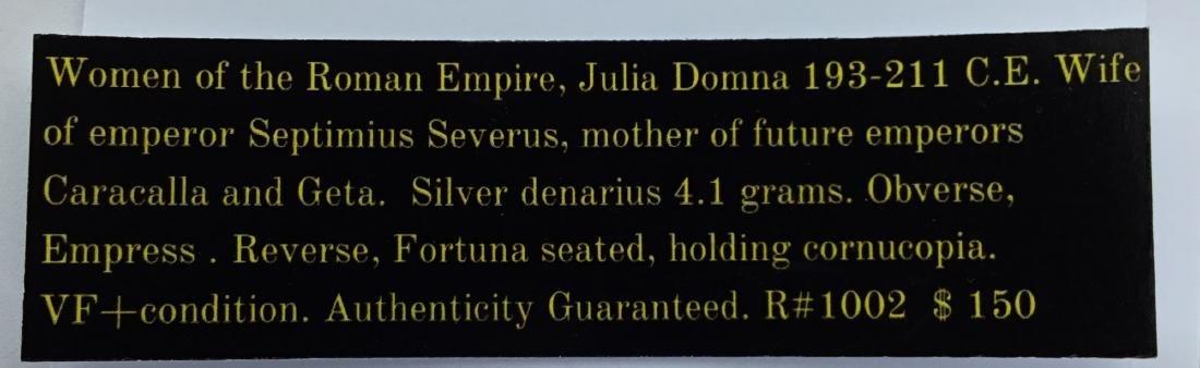 Roman. Julia Domna. - 3