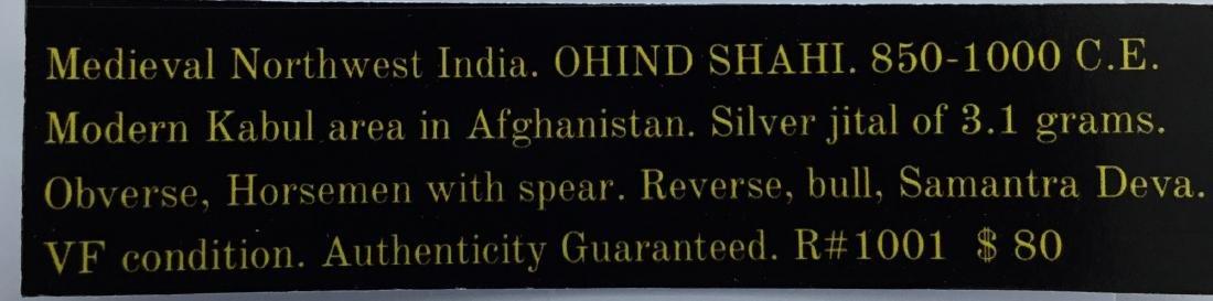 Medieval NW India. OHIND Shahi. 850-1000 AD - 3
