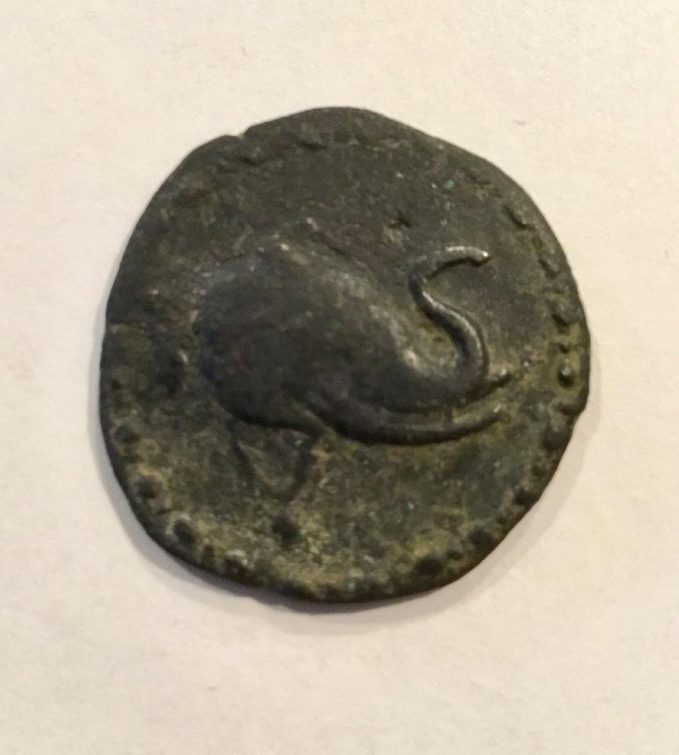 Ancient India, indo Greek. 200-185 BC. Demetrius l