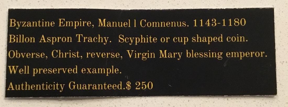 Byzantine. Manuel l Comnenus. 1143-1180 - 3