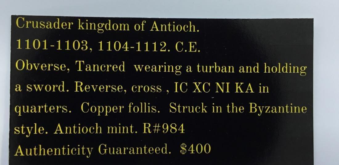 Crusader kingdom of Antioch. 1101-1112 - 3
