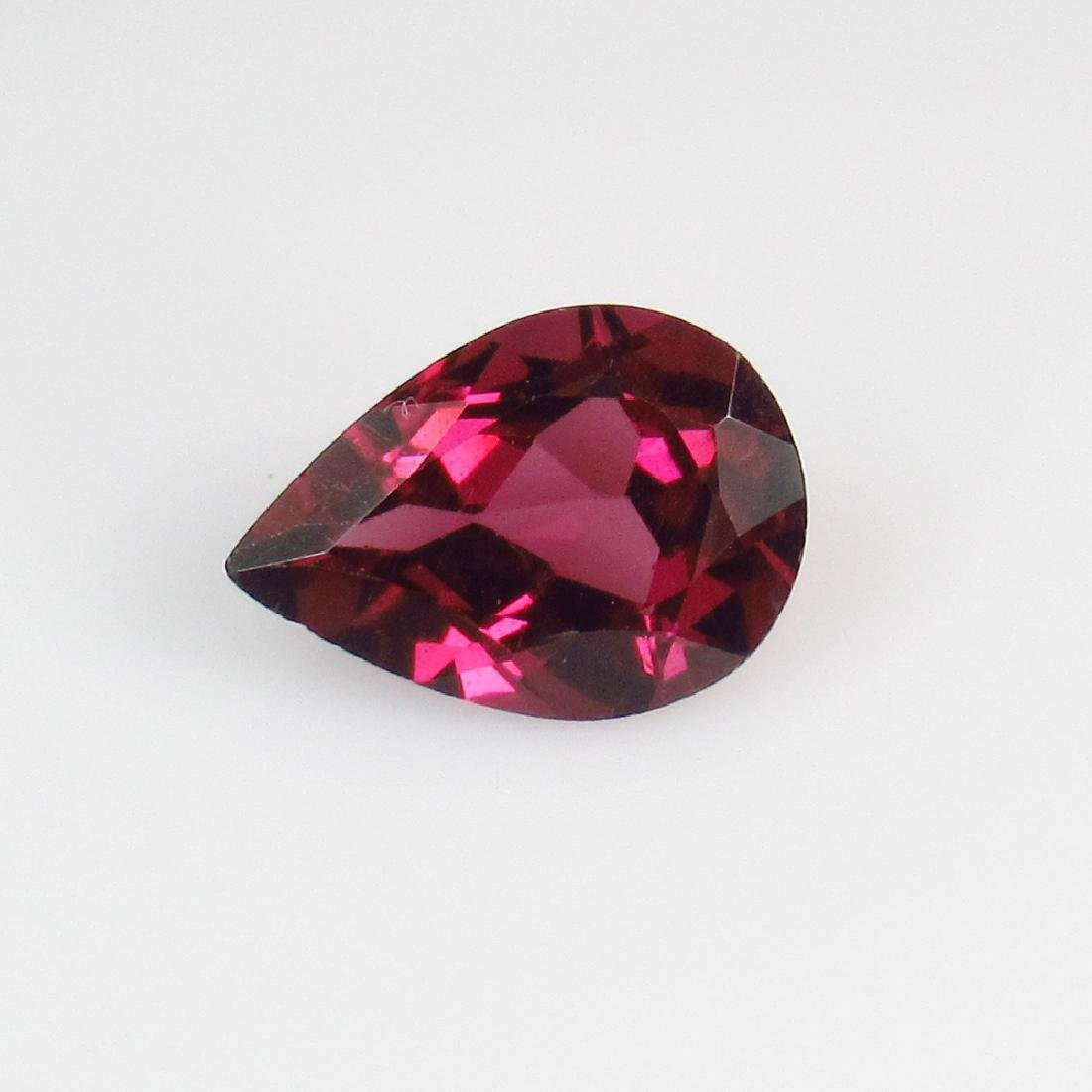 2.20 Ct Genuine Pink Rhodolite Garnet 10X7 mm Pear Cut