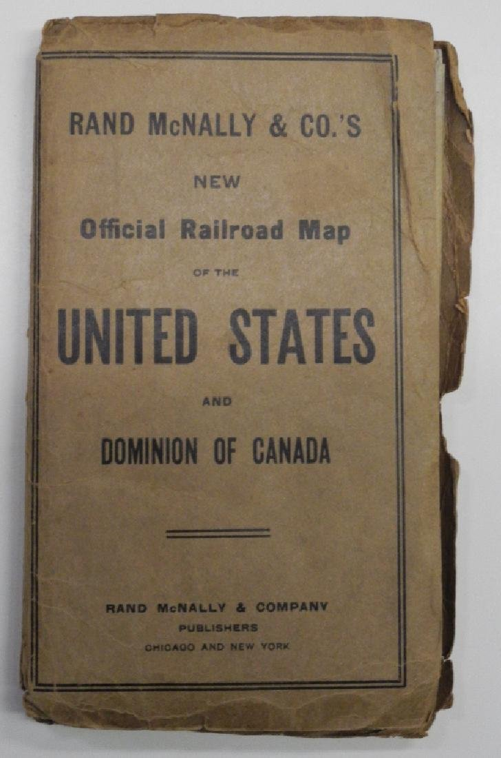 New Official Railroad Map of the United States and