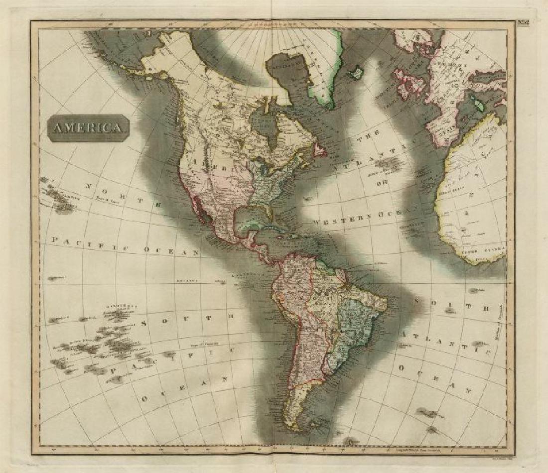 """America"". North/South Americas. British Florida."