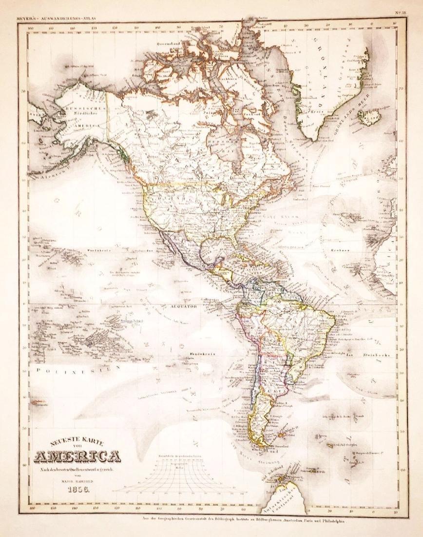 Radefield: The Americas, 1856