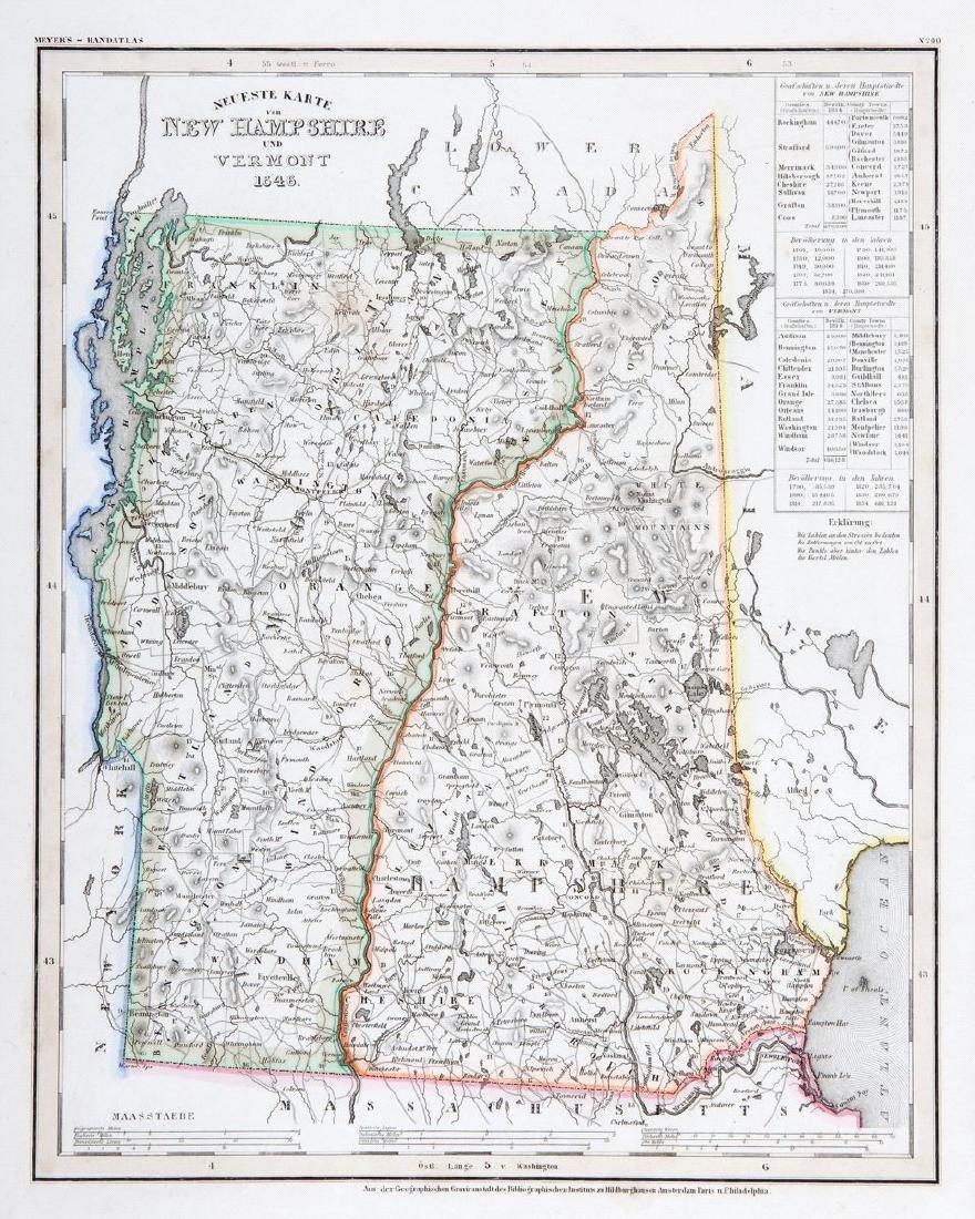 Meyer: New Hampshire & Vermont, 1845