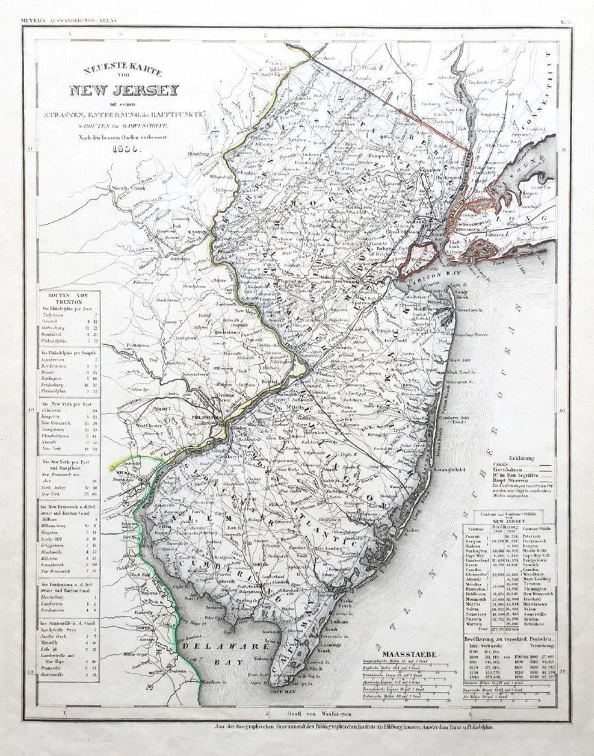 Meyer: New Jersey, 1850