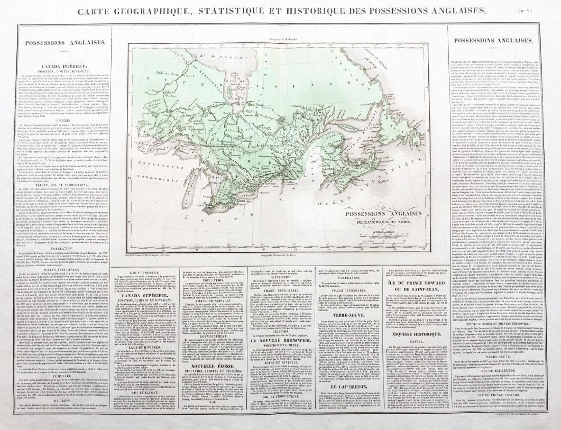 Buchon: 1820s British North America