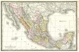 Mexico. Rand, McNally & Co.'s Mexico.