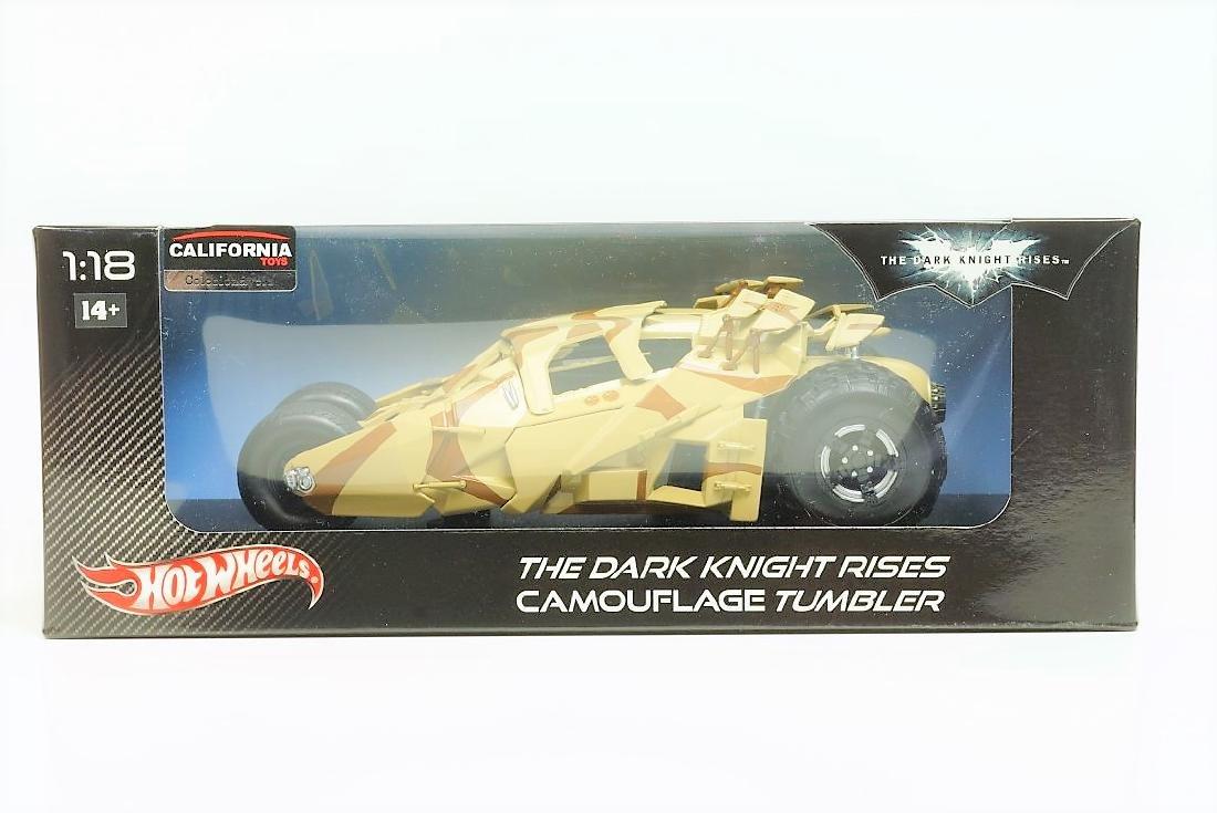 Hot Wheels Batman Batmobile Tumbler camouflage deco - 2