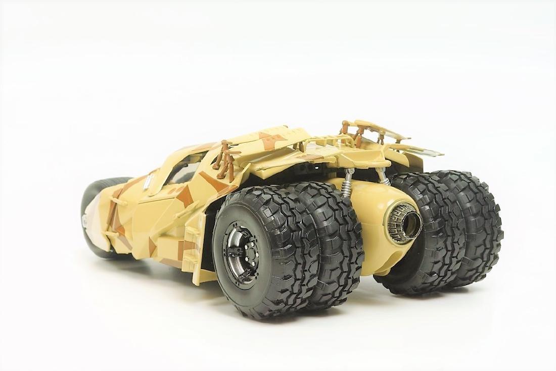 Hot Wheels Batman Batmobile Tumbler camouflage deco - 3