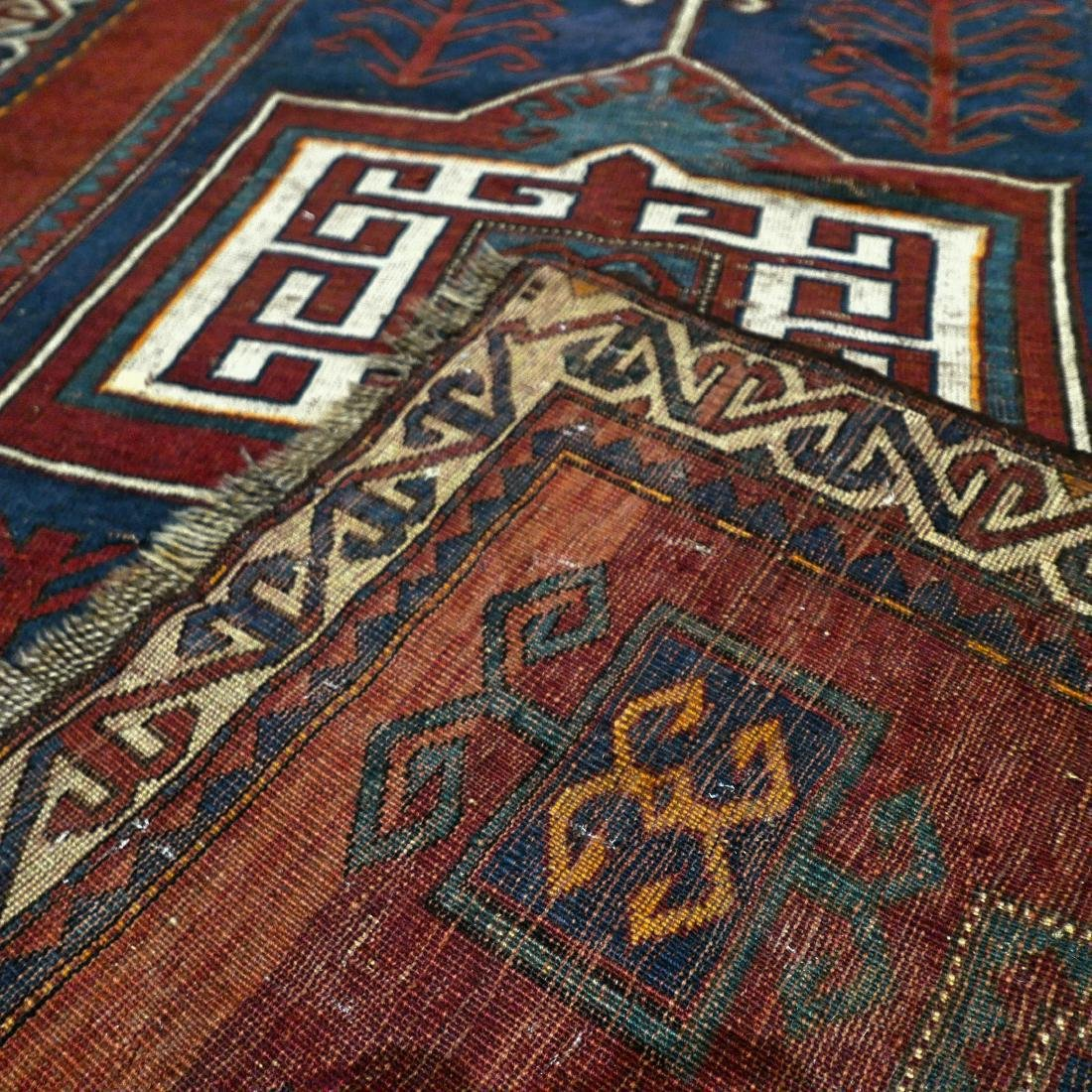 6.6 x 4.6 Caucasian Kazak rug - early 1900s - - 3