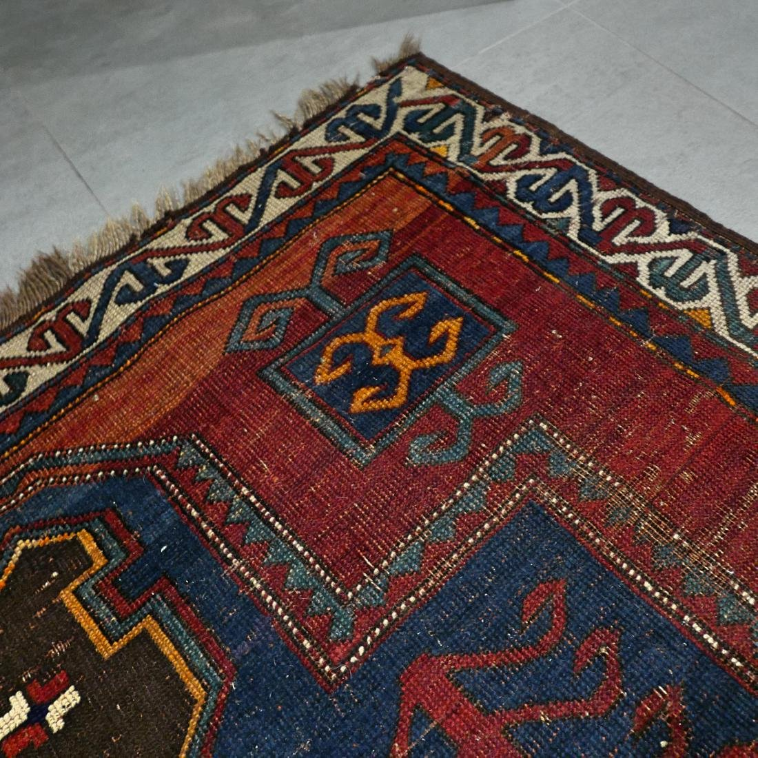 6.6 x 4.6 Caucasian Kazak rug - early 1900s - - 4