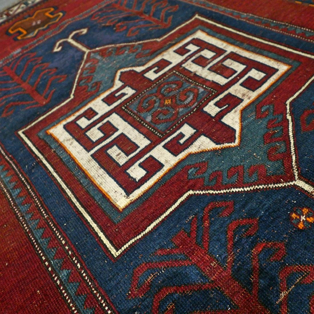 6.6 x 4.6 Caucasian Kazak rug - early 1900s - - 6