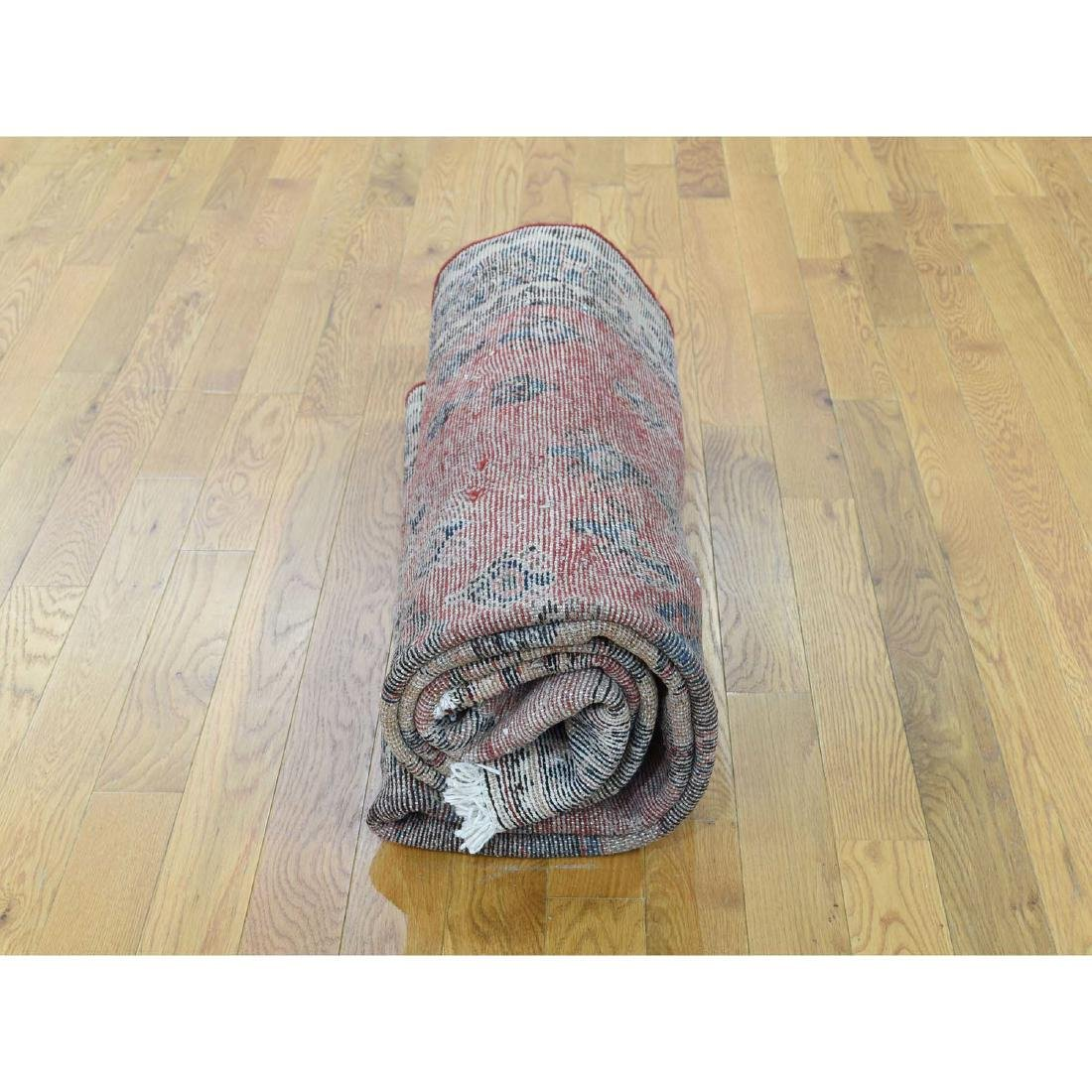 Semi Antique Persian Afshar Full Pile Mint Condition - 10