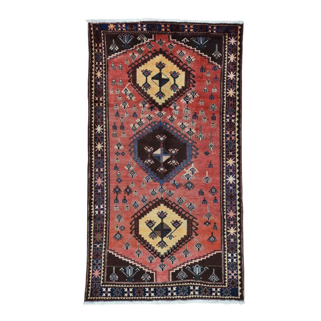 Semi Antique Persian Afshar Full Pile Mint Condition