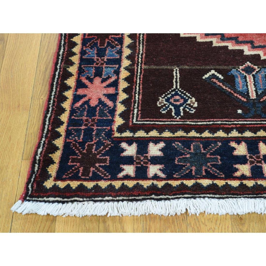 Semi Antique Persian Afshar Full Pile Mint Condition - 5