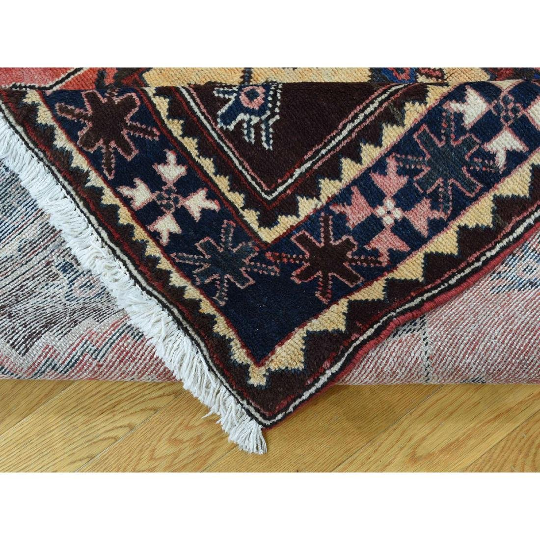 Semi Antique Persian Afshar Full Pile Mint Condition - 7