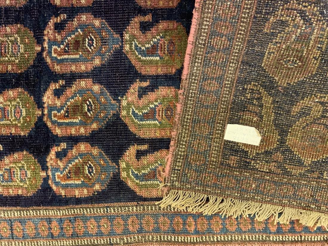 Semi Antique Hand Woven Persian Rug Kurdish 6.8x2.3 - 4