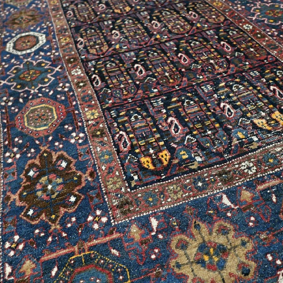 10.1x4.3 Antique Armenian boteh Kazak rug - 1880s - - 3