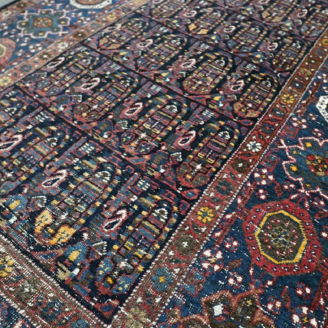 10.1x4.3 Antique Armenian boteh Kazak rug - 1880s - - 4