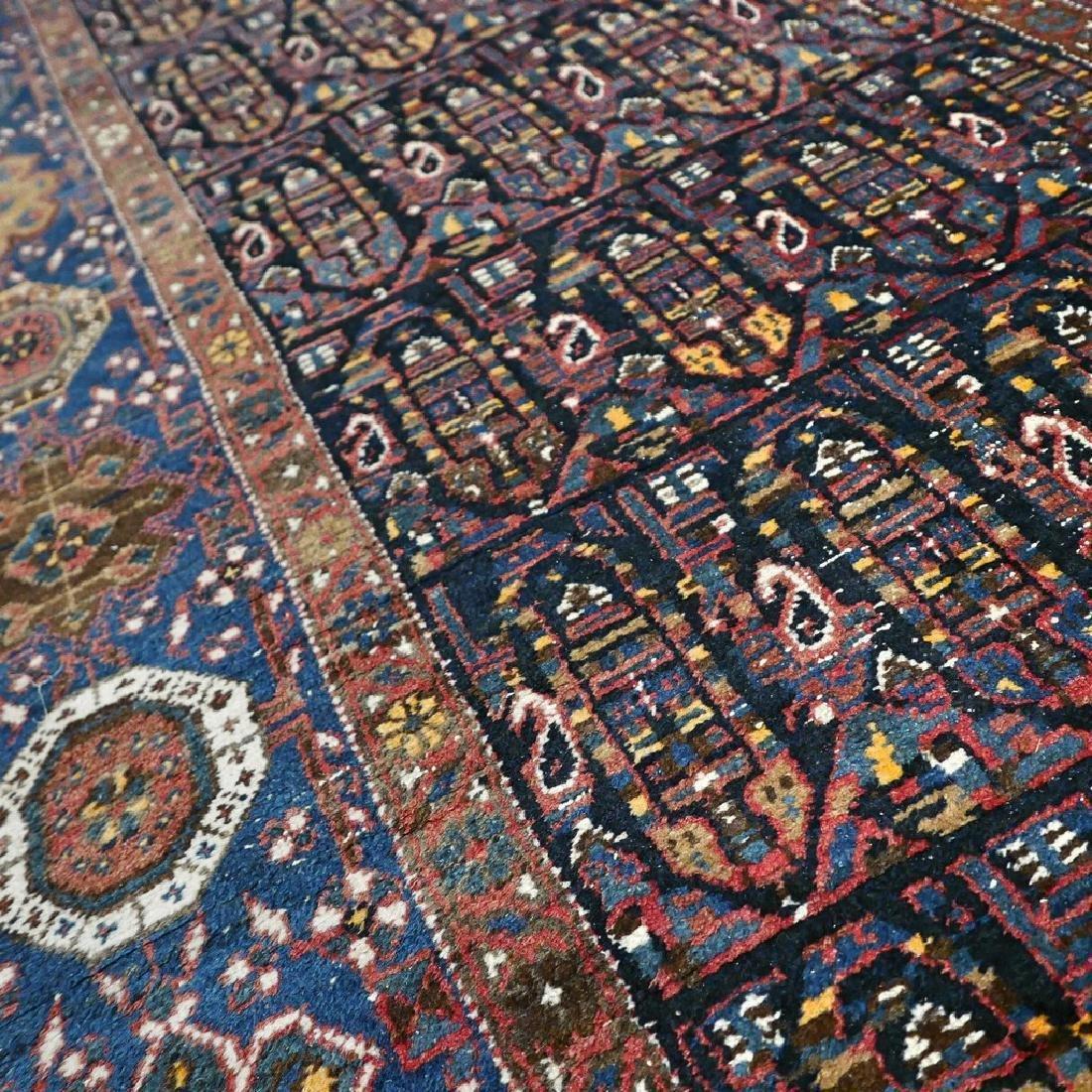 10.1x4.3 Antique Armenian boteh Kazak rug - 1880s - - 6