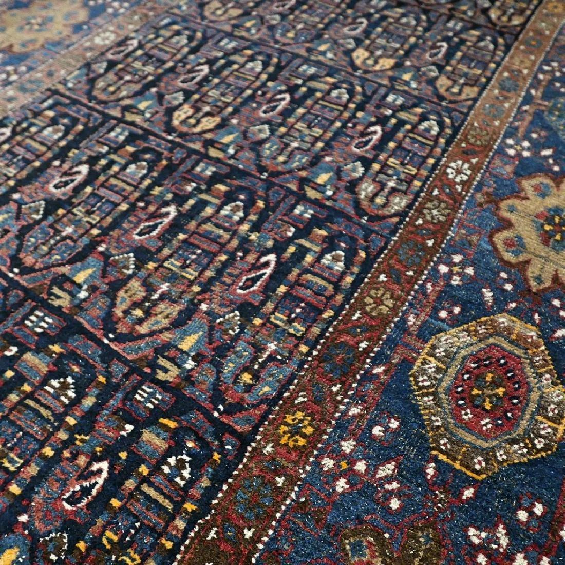 10.1x4.3 Antique Armenian boteh Kazak rug - 1880s - - 7