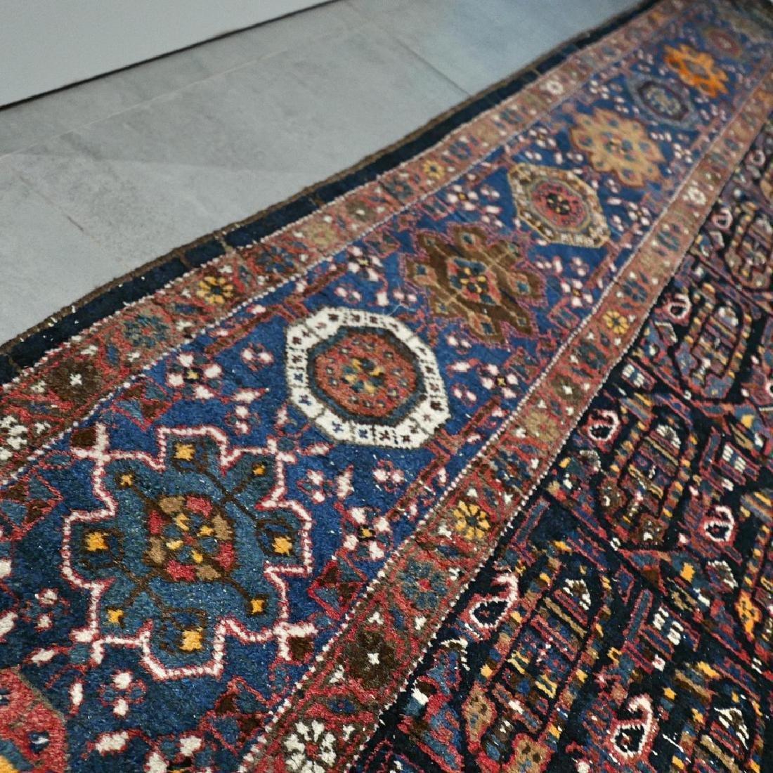 10.1x4.3 Antique Armenian boteh Kazak rug - 1880s - - 8