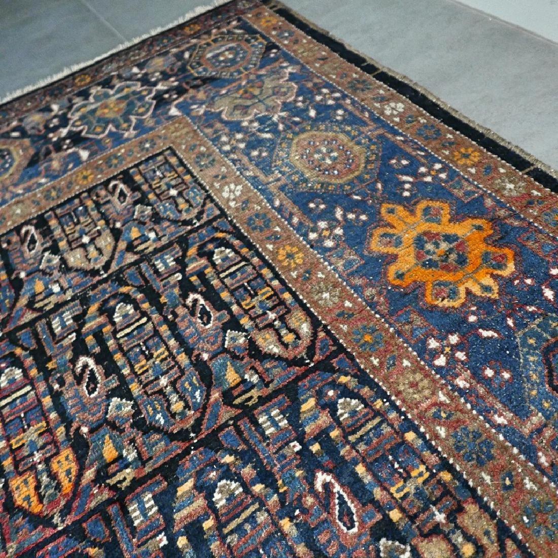 10.1x4.3 Antique Armenian boteh Kazak rug - 1880s - - 9