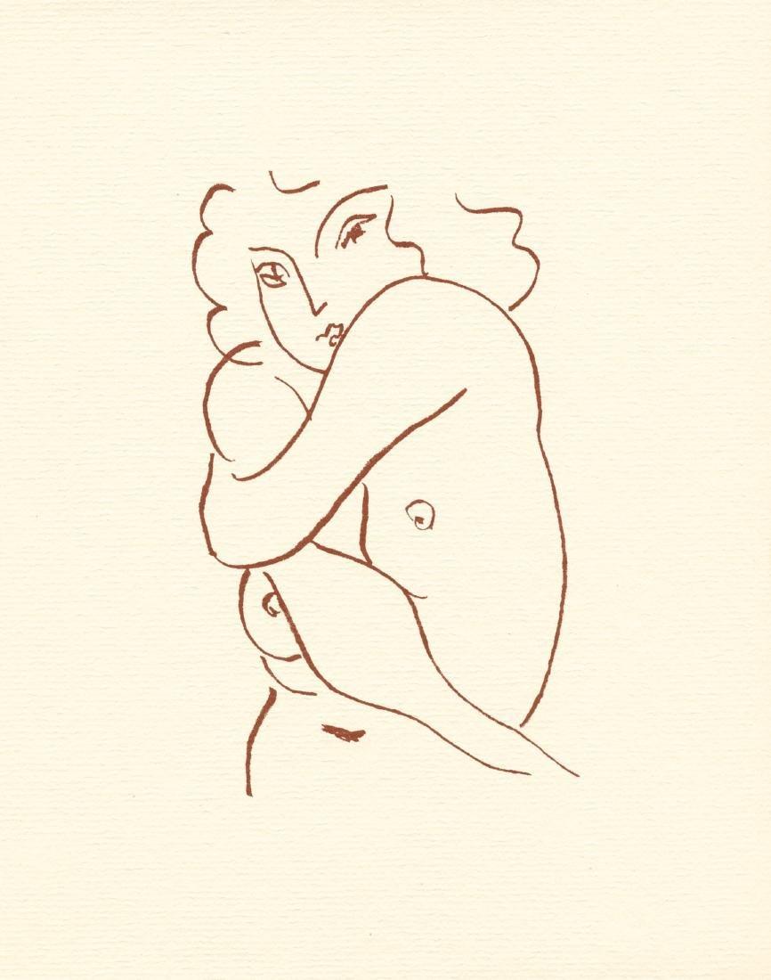 Henri Matisse lithograph | Florilege de Rosnard