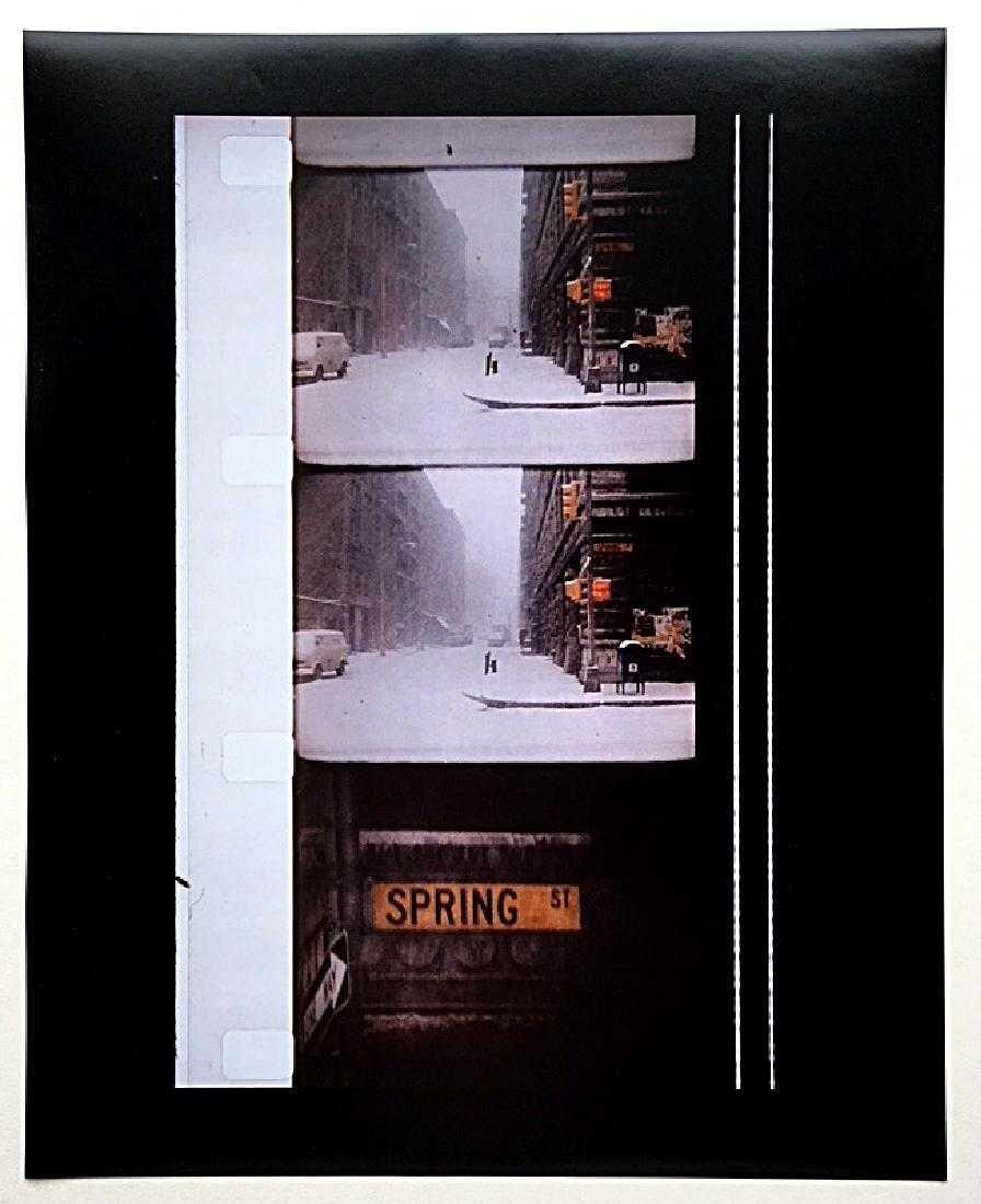 Untitled (Spring Street NYC) - Jonas Mekas