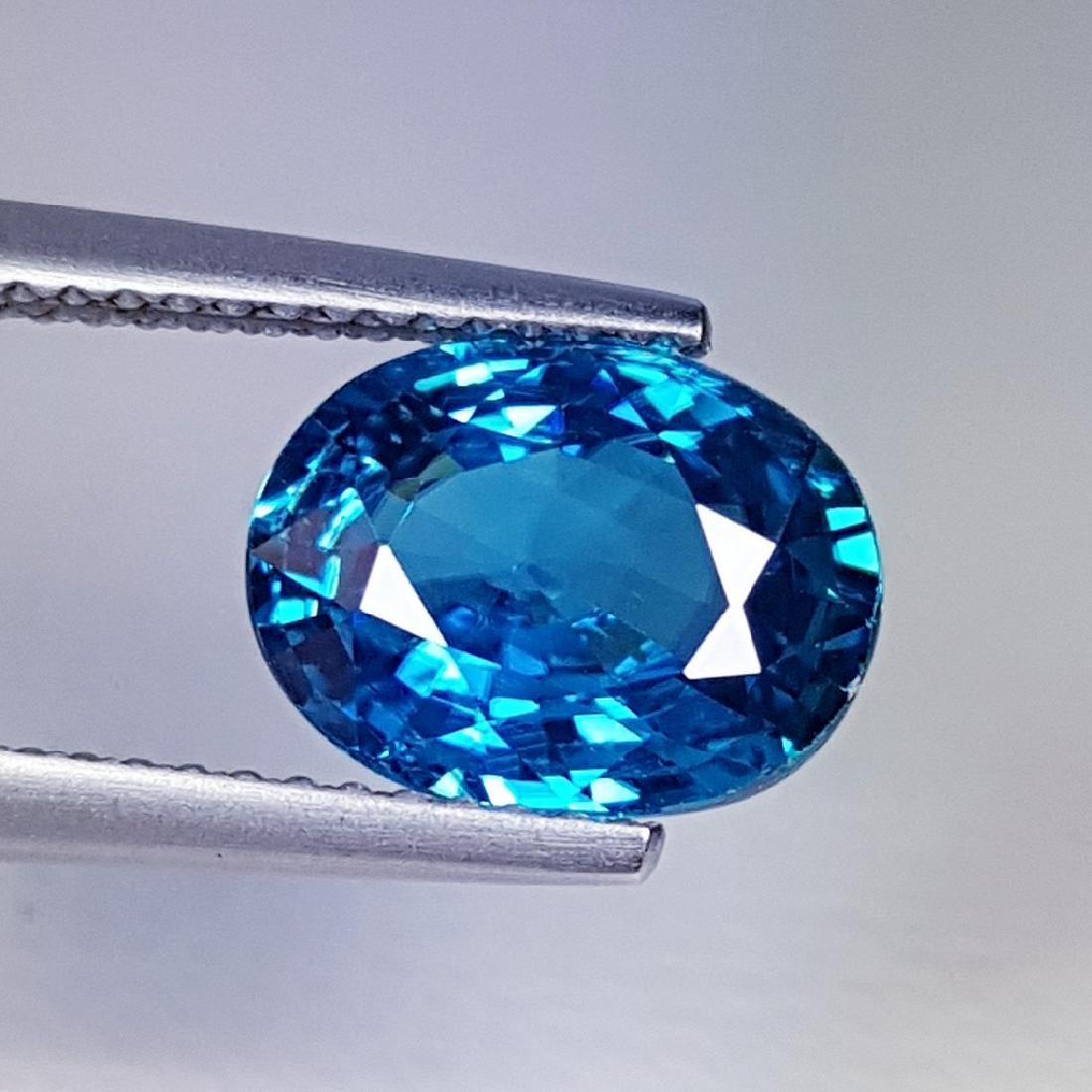 3.60 ct Natural Blue Zircon