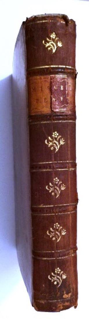 18th C Leather Bound English Plays - 5