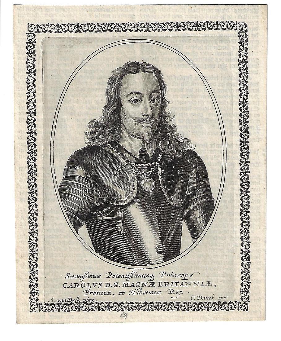 1680 Engraving of King Charles I