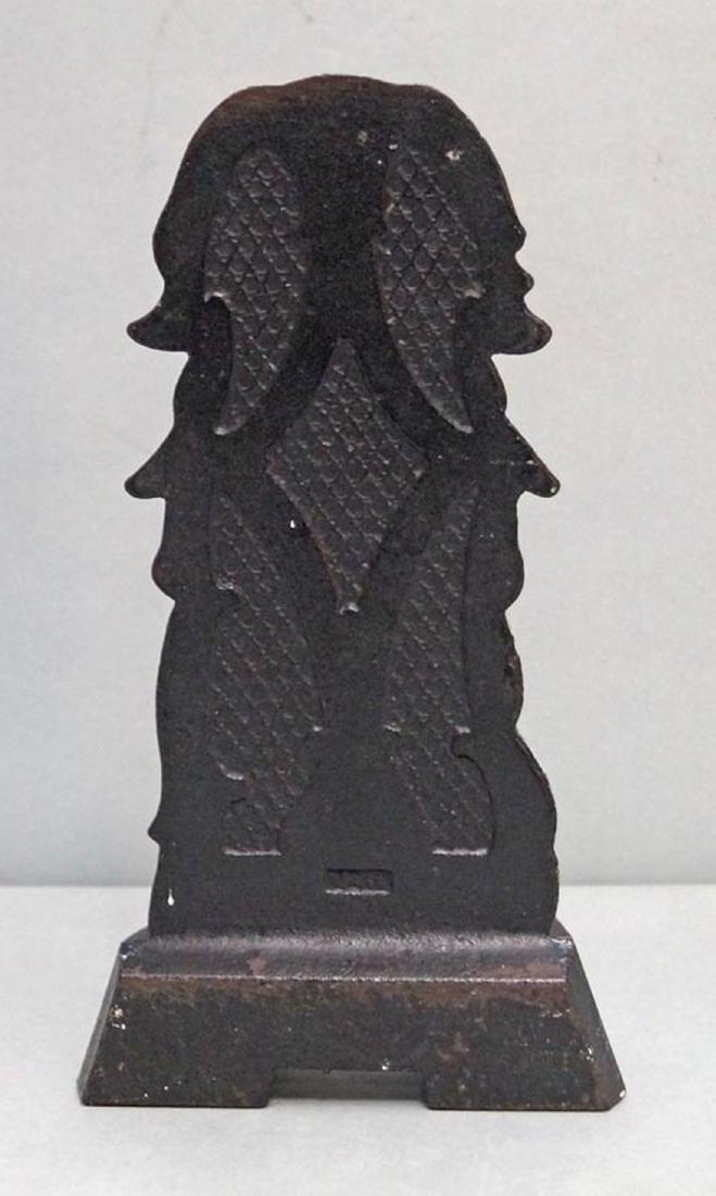 Japanese Spaniel Cast Iron Doorstop - 4
