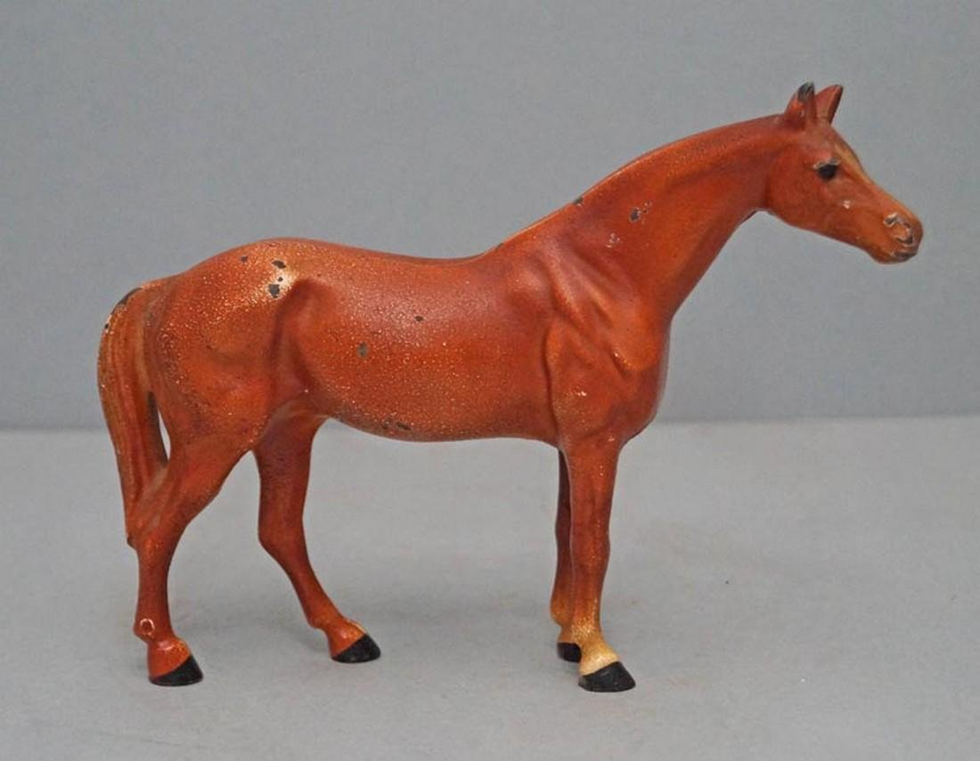 Antique Cast Iron Hubley Horse - 2