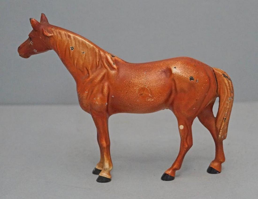 Antique Cast Iron Hubley Horse - 3