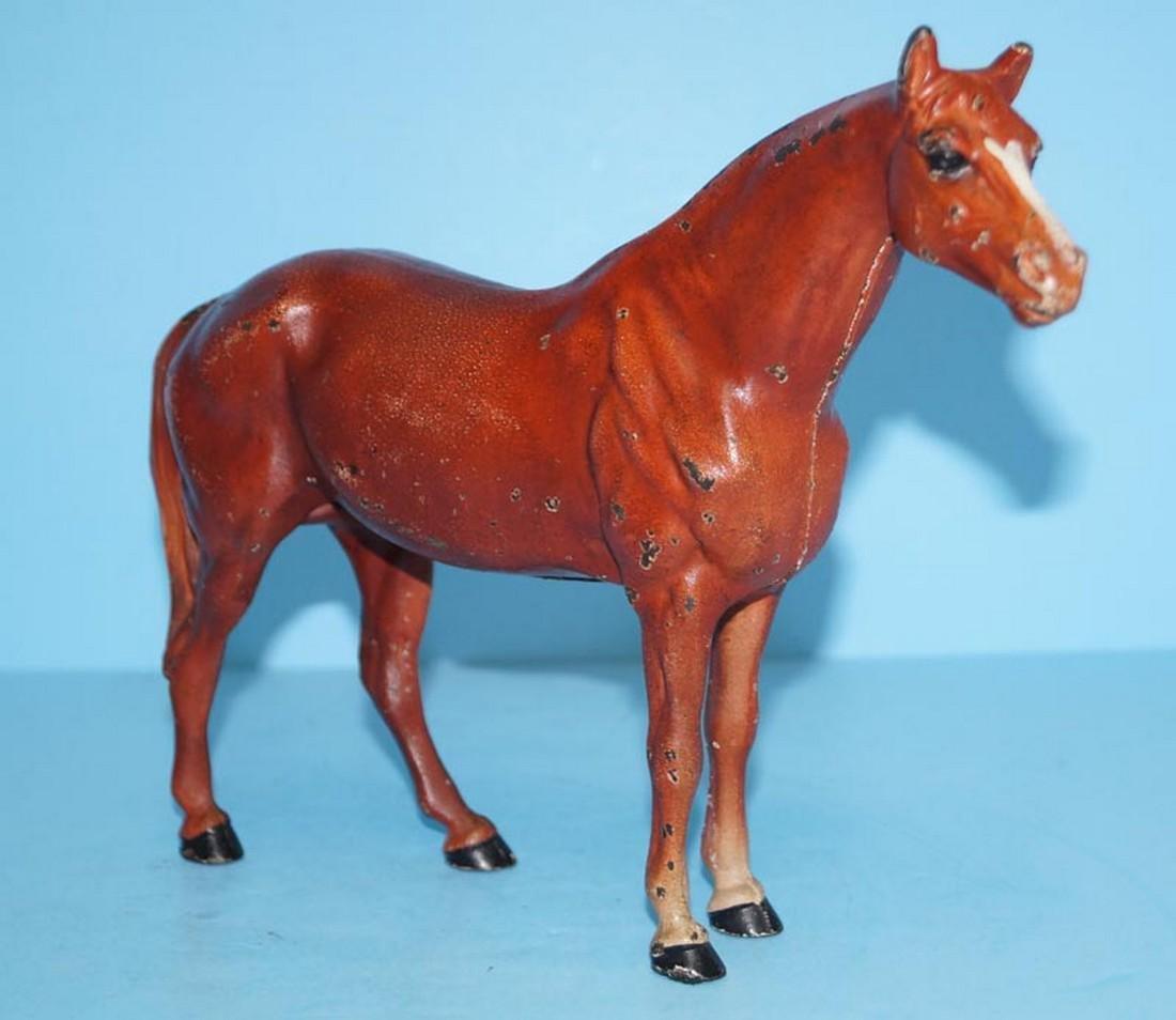 Antique Horse Cast Iron Hubley Doorstop